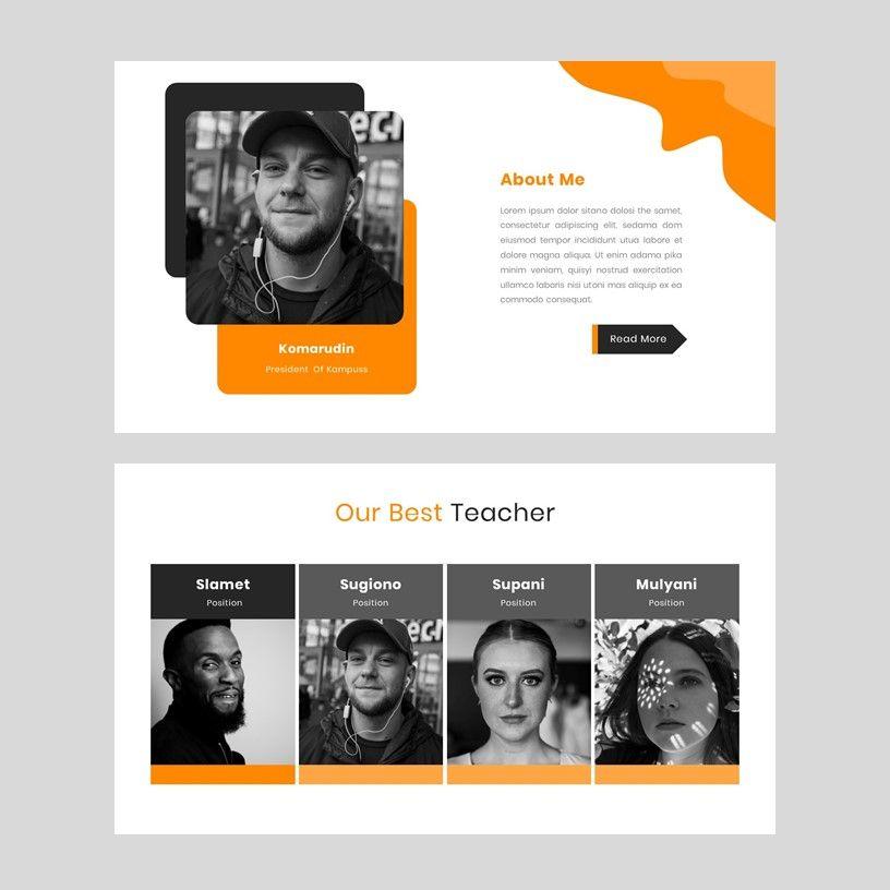 Kampuss - PowerPoint Template, Slide 11, 05880, Presentation Templates — PoweredTemplate.com