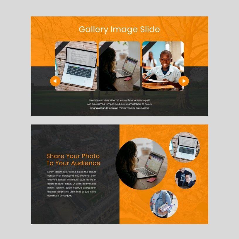 Kampuss - PowerPoint Template, Slide 13, 05880, Presentation Templates — PoweredTemplate.com