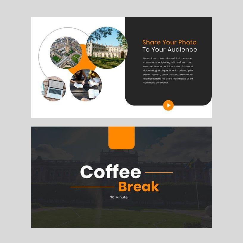 Kampuss - PowerPoint Template, Slide 14, 05880, Presentation Templates — PoweredTemplate.com