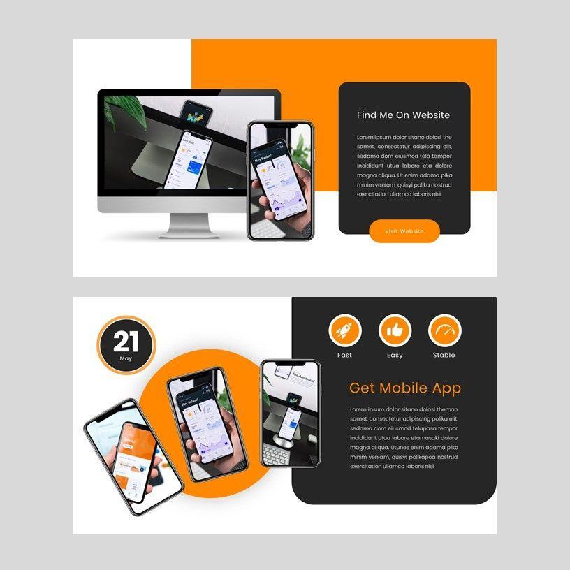 Kampuss - PowerPoint Template, Slide 15, 05880, Presentation Templates — PoweredTemplate.com