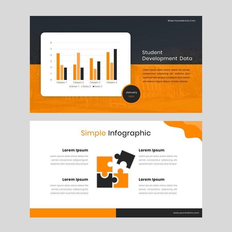 Kampuss - PowerPoint Template, Slide 16, 05880, Presentation Templates — PoweredTemplate.com