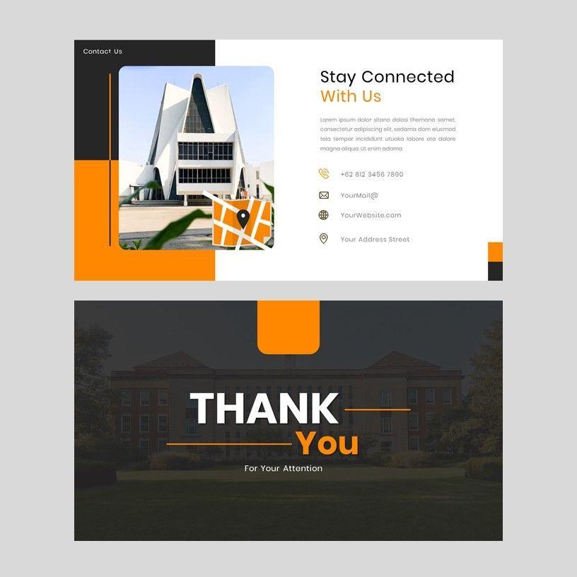 Kampuss - PowerPoint Template, Slide 17, 05880, Presentation Templates — PoweredTemplate.com