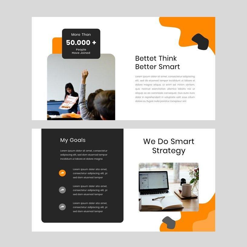 Kampuss - PowerPoint Template, Slide 3, 05880, Presentation Templates — PoweredTemplate.com