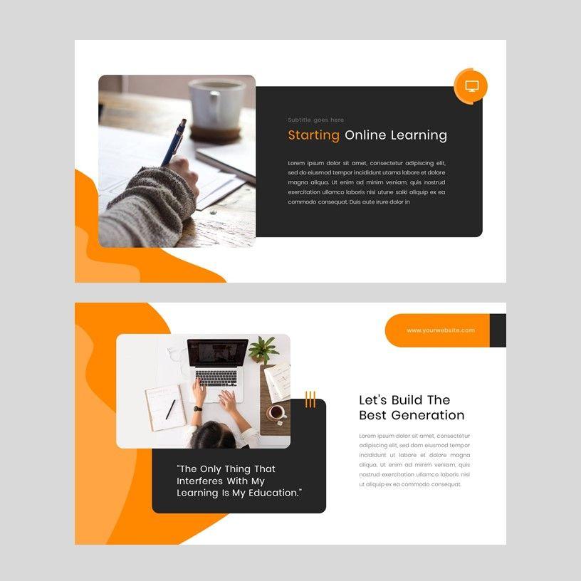 Kampuss - PowerPoint Template, Slide 4, 05880, Presentation Templates — PoweredTemplate.com