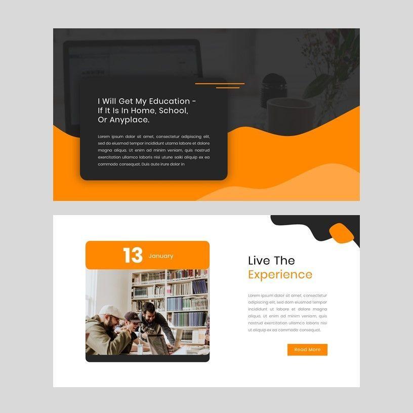 Kampuss - PowerPoint Template, Slide 5, 05880, Presentation Templates — PoweredTemplate.com