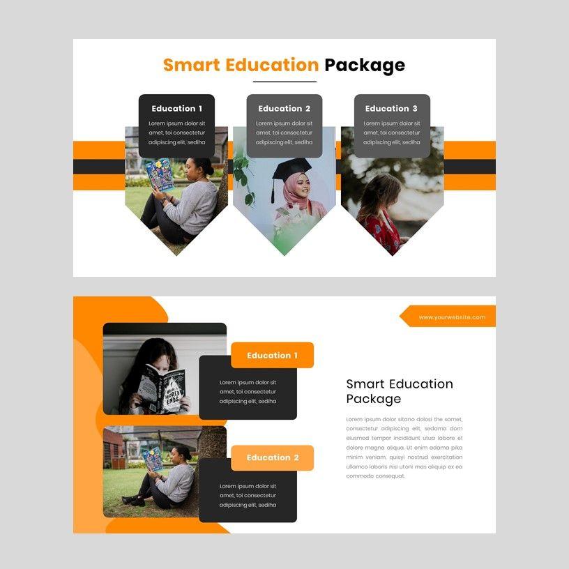 Kampuss - PowerPoint Template, Slide 7, 05880, Presentation Templates — PoweredTemplate.com