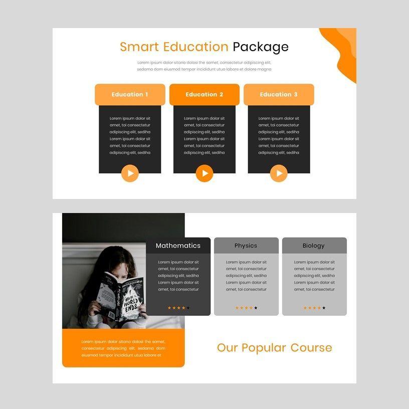 Kampuss - PowerPoint Template, Slide 8, 05880, Presentation Templates — PoweredTemplate.com