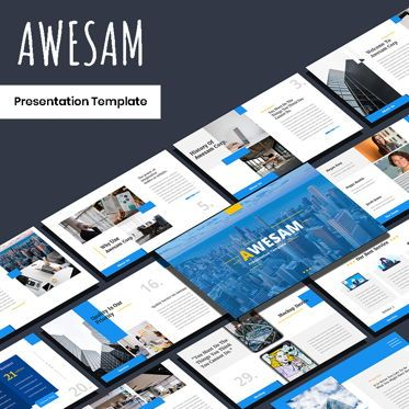 Presentation Templates: Awesam - PowerPoint Template #05882