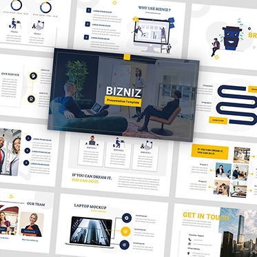 Presentation Templates: Bizniz - PowerPoint Template #05883