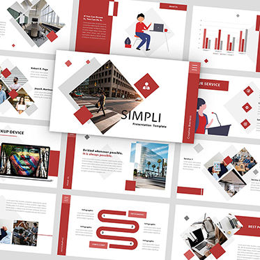 Presentation Templates: Simpli - PowerPoint Template #05886