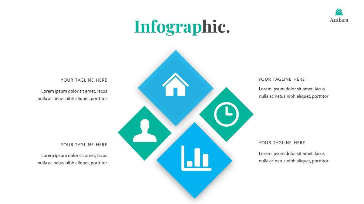 Andara - Real Estate Powerpoint Template, Slide 32, 05888, Text Boxes — PoweredTemplate.com