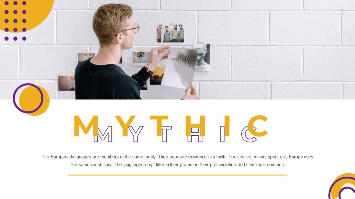 Mythic - Creative Powerpoint Template, Slide 2, 05892, Data Driven Diagrams and Charts — PoweredTemplate.com