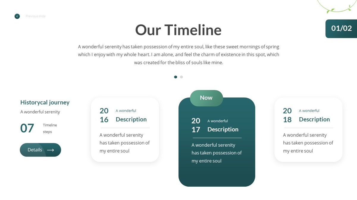 Anemoa - Nature Powerpoint Template, Slide 10, 05894, Icons — PoweredTemplate.com