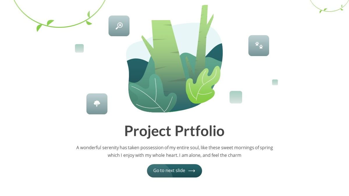 Anemoa - Nature Powerpoint Template, Slide 16, 05894, Icons — PoweredTemplate.com