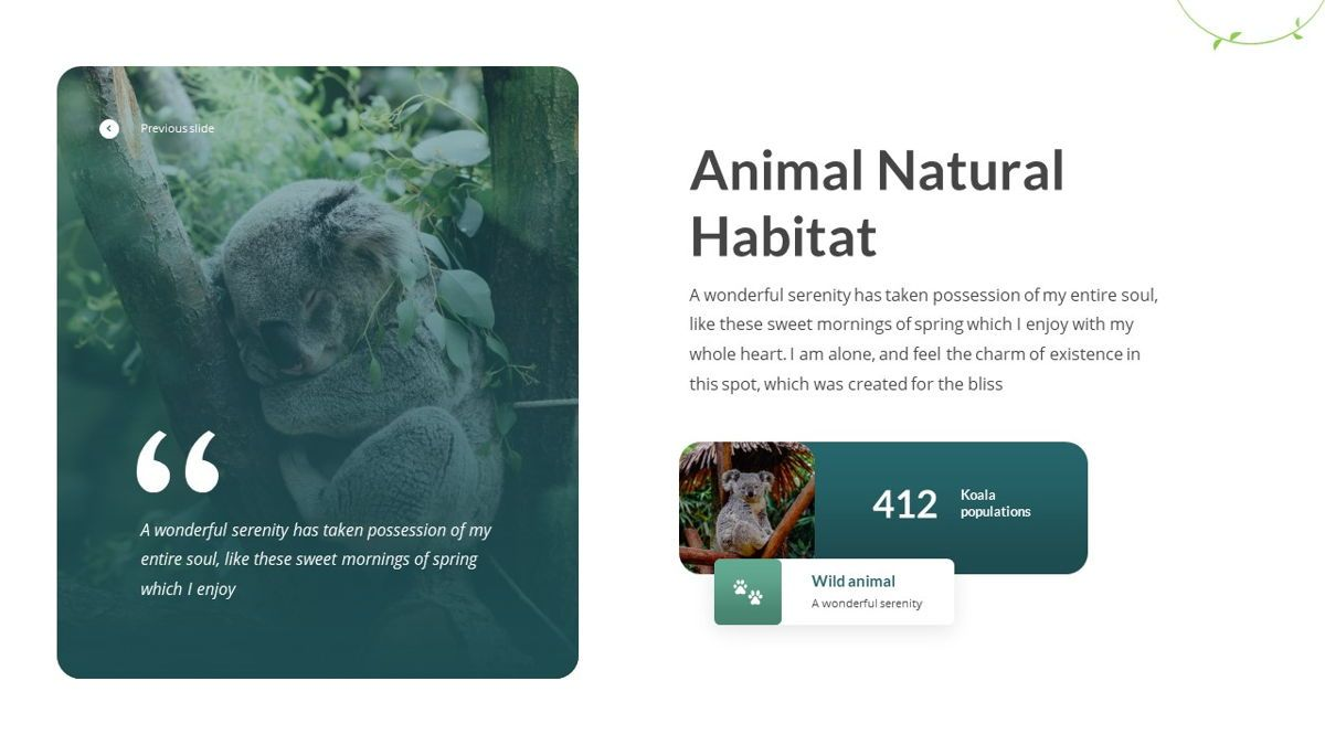 Anemoa - Nature Powerpoint Template, Slide 17, 05894, Icons — PoweredTemplate.com