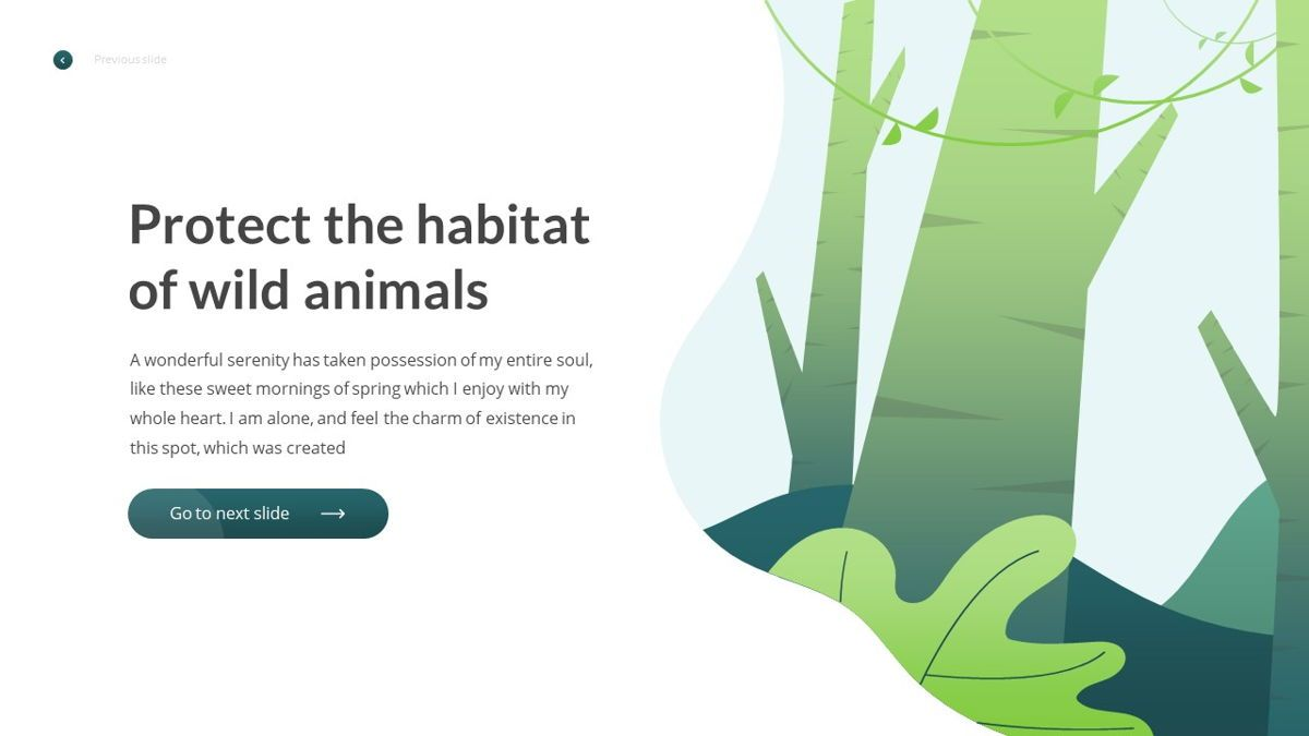 Anemoa - Nature Powerpoint Template, Slide 3, 05894, Icons — PoweredTemplate.com