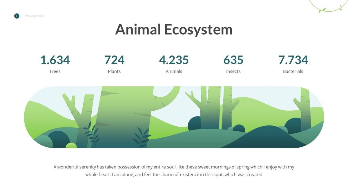 Anemoa - Nature Powerpoint Template, Slide 5, 05894, Icons — PoweredTemplate.com