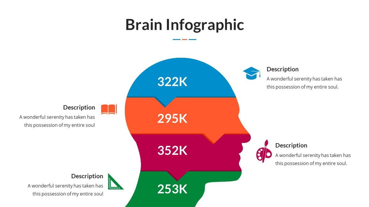 Brain Infographic for Powerpoint Template, Slide 16, 05895, Business Models — PoweredTemplate.com