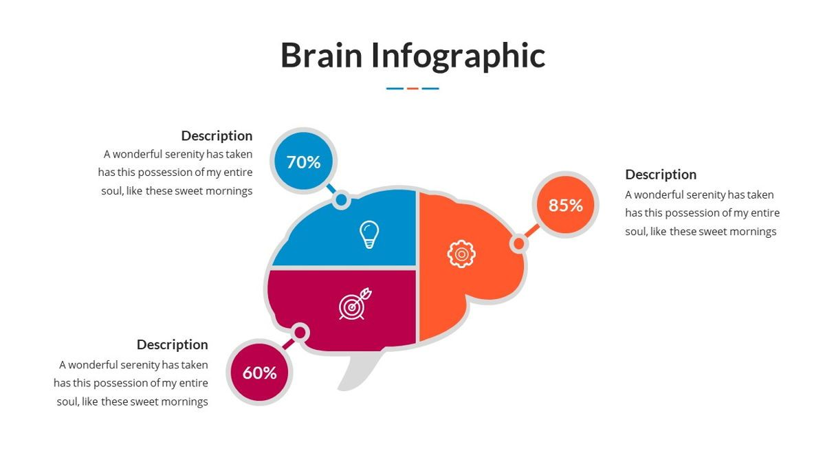 Brain Infographic for Powerpoint Template, Slide 24, 05895, Business Models — PoweredTemplate.com