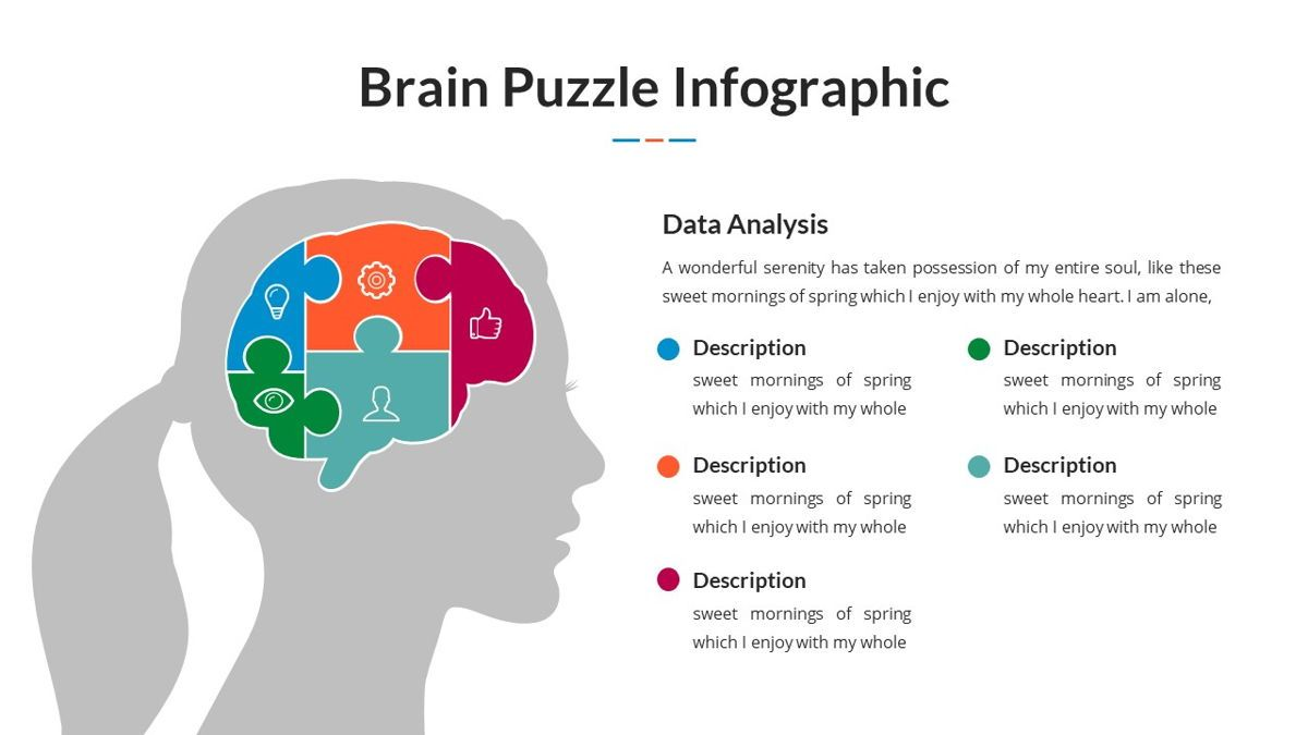 Brain Infographic for Powerpoint Template, Slide 5, 05895, Business Models — PoweredTemplate.com