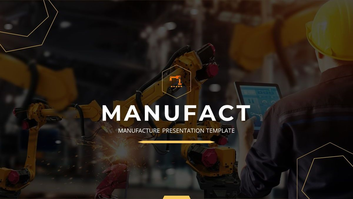 Manufact - Factory Powerpoint Template, Slide 2, 05897, Flow Charts — PoweredTemplate.com