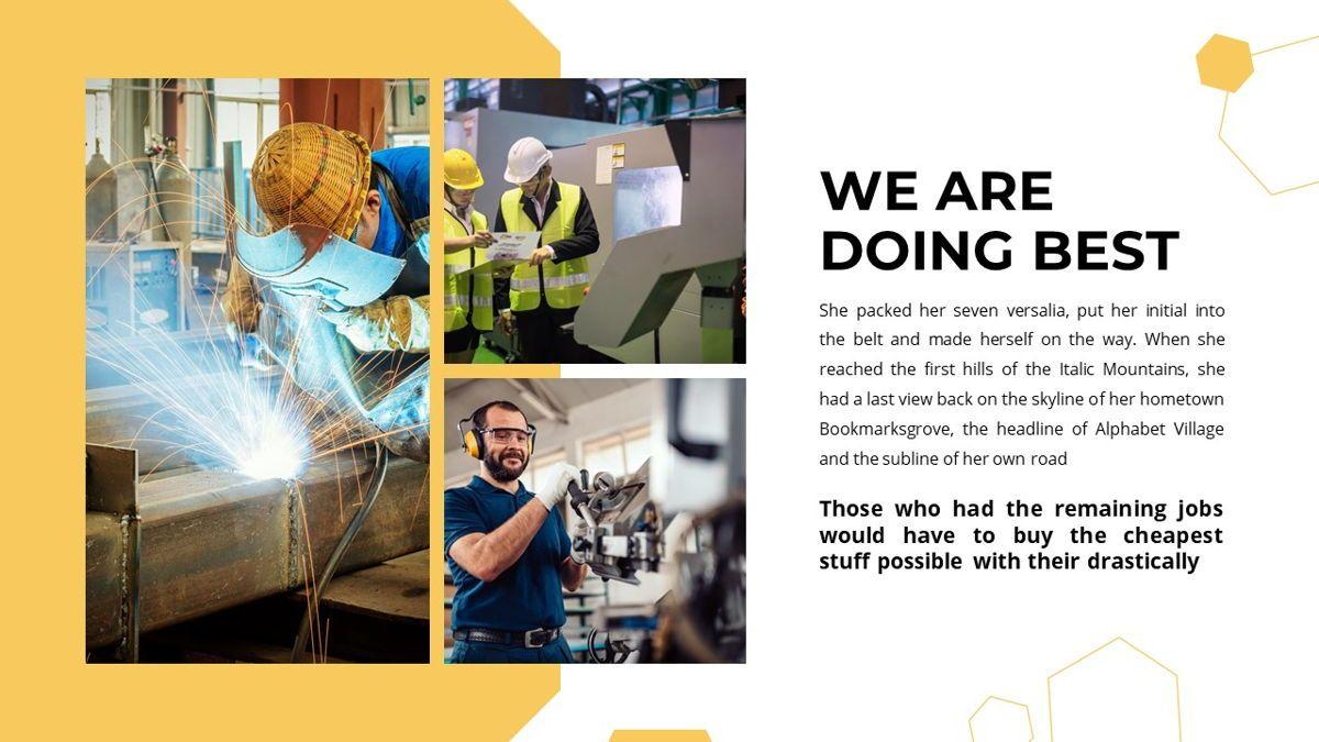 Manufact - Factory Powerpoint Template, Slide 20, 05897, Flow Charts — PoweredTemplate.com