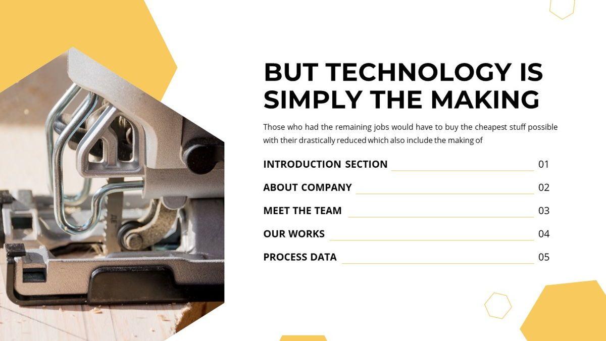 Manufact - Factory Powerpoint Template, Slide 4, 05897, Flow Charts — PoweredTemplate.com