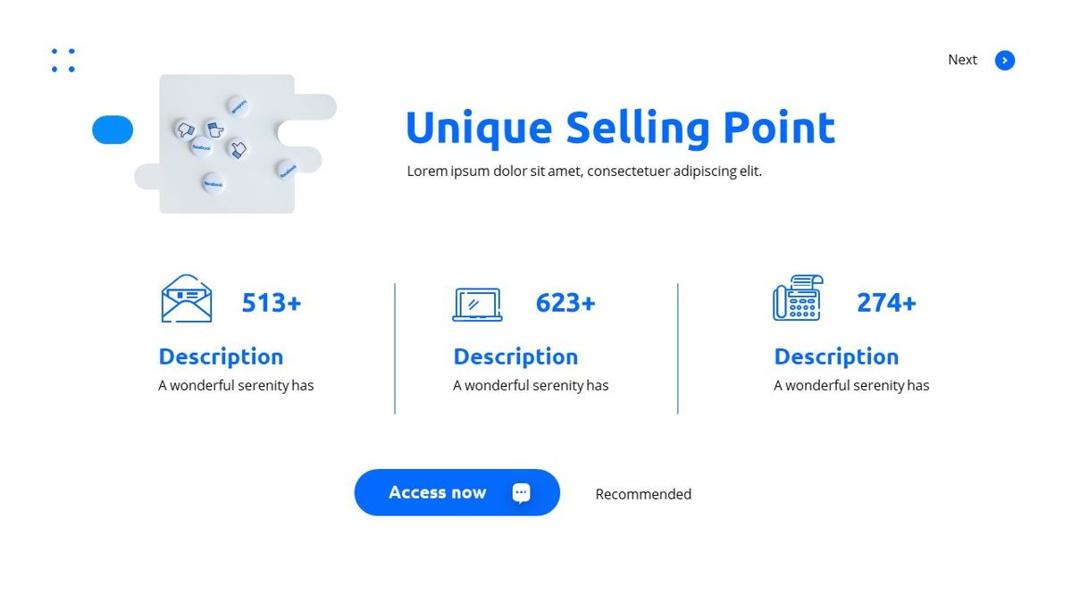 Teleria - Social Media Powerpoint Template, Slide 10, 05898, Data Driven Diagrams and Charts — PoweredTemplate.com