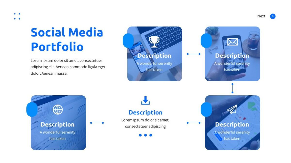 Teleria - Social Media Powerpoint Template, Slide 18, 05898, Data Driven Diagrams and Charts — PoweredTemplate.com