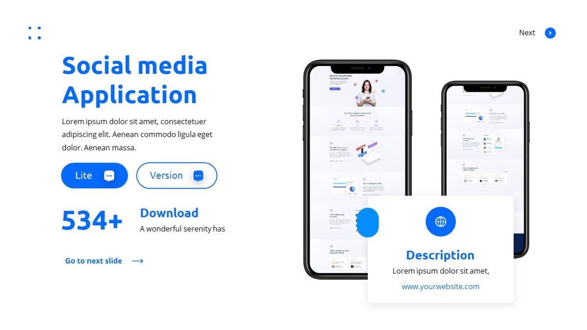 Teleria - Social Media Powerpoint Template, Slide 22, 05898, Data Driven Diagrams and Charts — PoweredTemplate.com