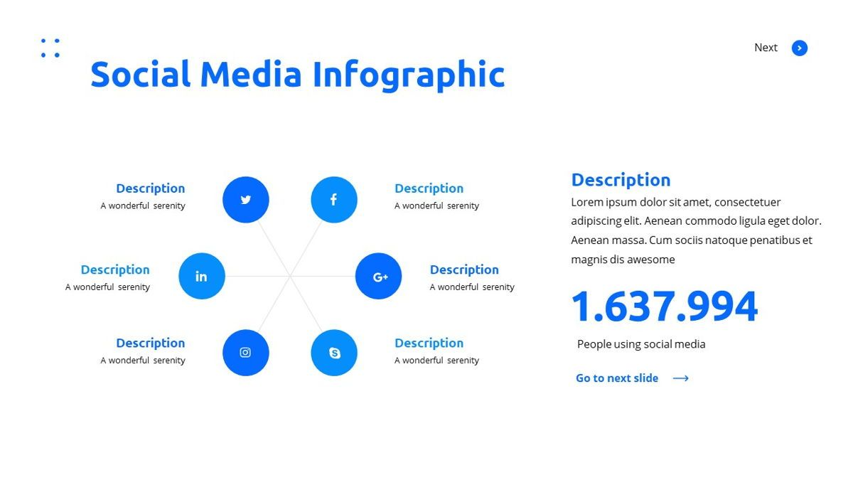 Teleria - Social Media Powerpoint Template, Slide 24, 05898, Data Driven Diagrams and Charts — PoweredTemplate.com