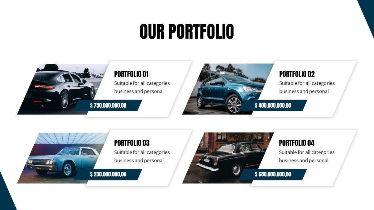 Fortuna - Automotive Powerpoint Template, Slide 15, 05899, Data Driven Diagrams and Charts — PoweredTemplate.com