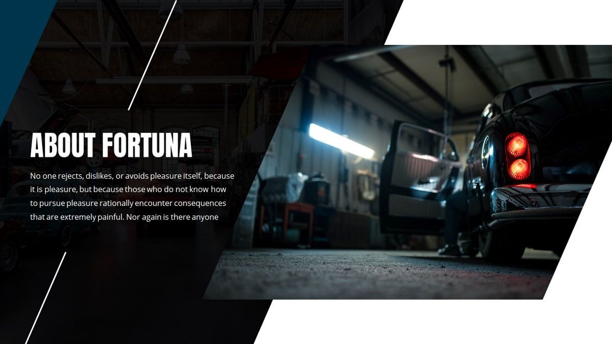 Fortuna - Automotive Powerpoint Template, Slide 4, 05899, Data Driven Diagrams and Charts — PoweredTemplate.com