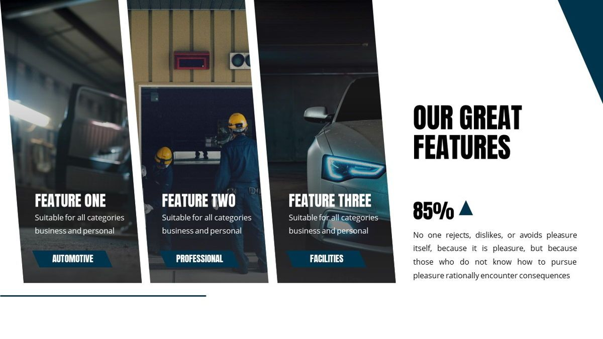 Fortuna - Automotive Powerpoint Template, Slide 7, 05899, Data Driven Diagrams and Charts — PoweredTemplate.com