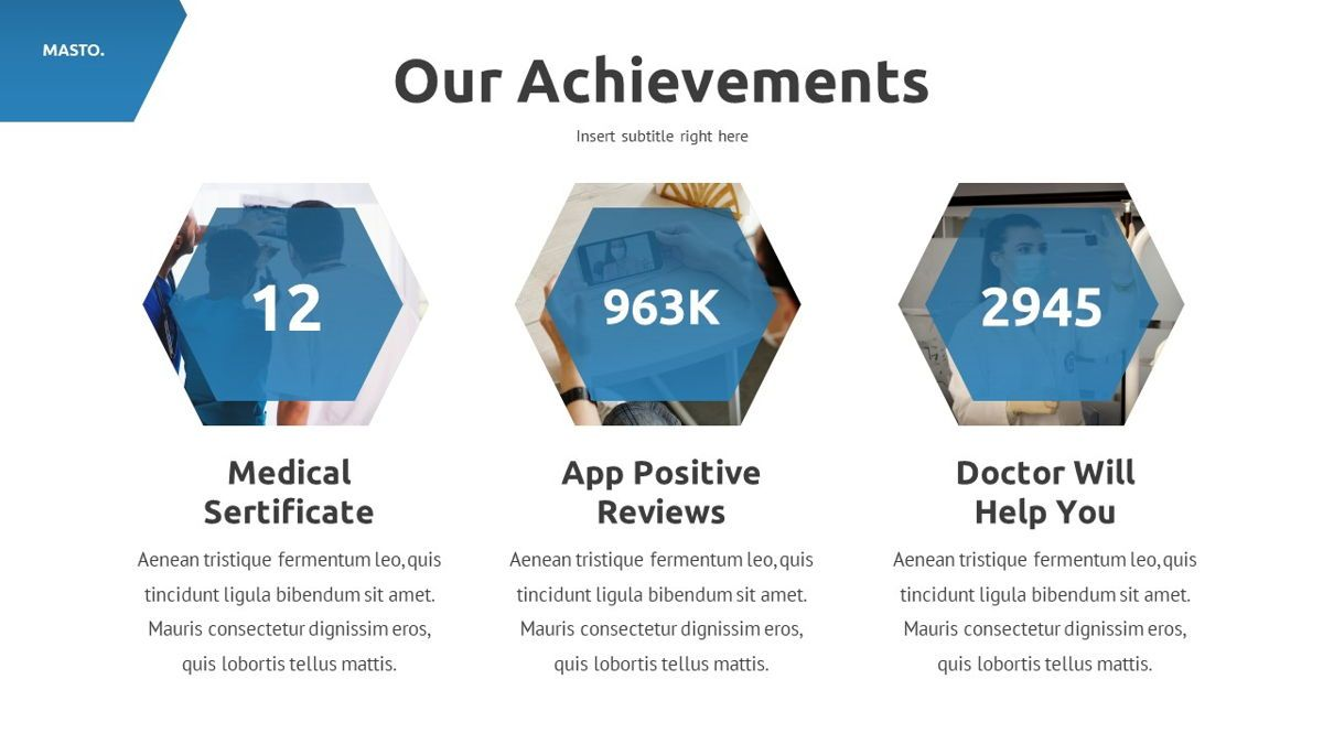 Masto - Medical Apps Powerpoint Template, Slide 11, 05906, Data Driven Diagrams and Charts — PoweredTemplate.com