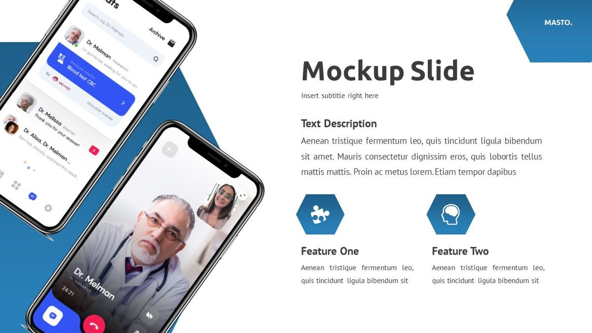 Masto - Medical Apps Powerpoint Template, Slide 20, 05906, Data Driven Diagrams and Charts — PoweredTemplate.com