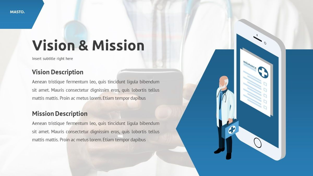 Masto - Medical Apps Powerpoint Template, Slide 7, 05906, Data Driven Diagrams and Charts — PoweredTemplate.com