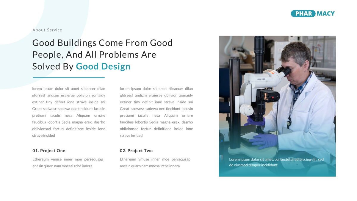 Pharmacy – Creative Business Google Slides Template, Slide 14, 05908, Business Models — PoweredTemplate.com