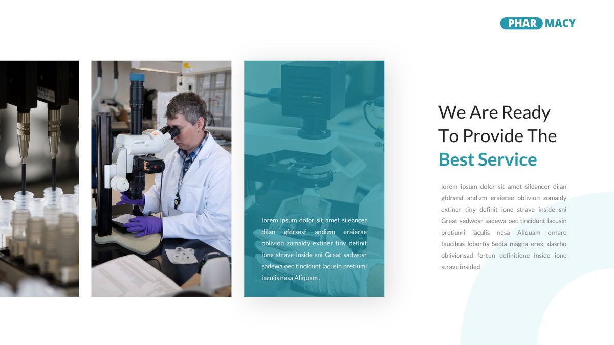 Pharmacy – Creative Business Google Slides Template, Slide 18, 05908, Business Models — PoweredTemplate.com