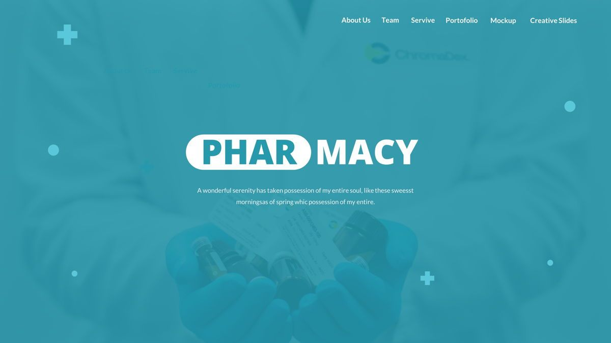Pharmacy – Creative Business Google Slides Template, Slide 2, 05908, Business Models — PoweredTemplate.com