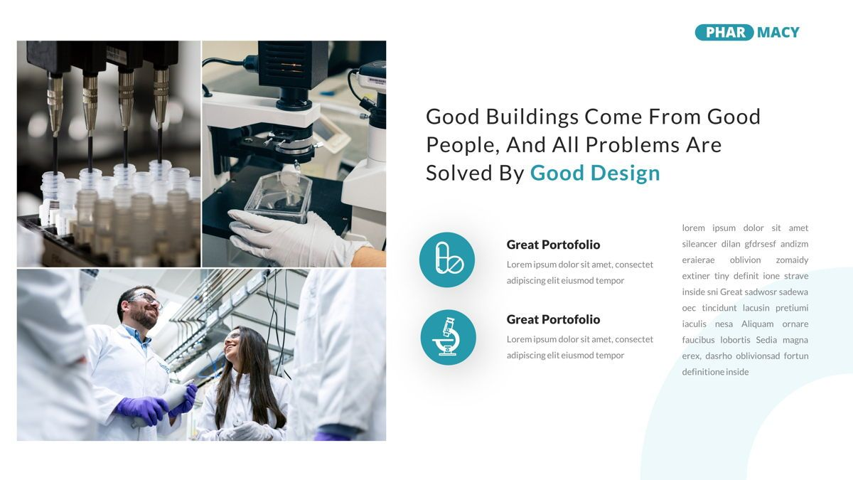 Pharmacy – Creative Business Google Slides Template, Slide 22, 05908, Business Models — PoweredTemplate.com