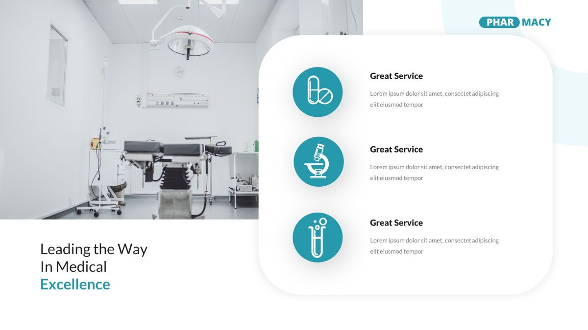 Pharmacy – Creative Business Google Slides Template, Slide 7, 05908, Business Models — PoweredTemplate.com
