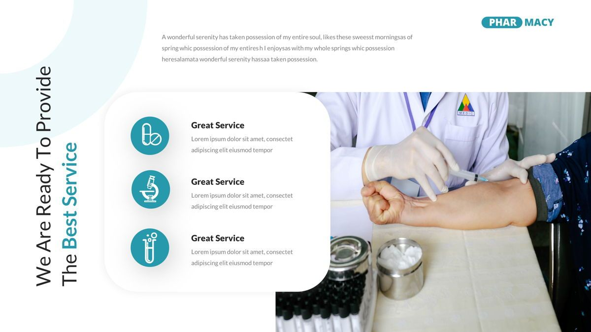 Pharmacy – Creative Business Google Slides Template, Slide 8, 05908, Business Models — PoweredTemplate.com