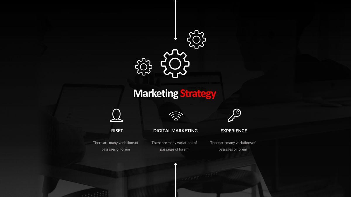 Marketing - Creative Business Powerpoint Template, Slide 5, 05910, Business Models — PoweredTemplate.com