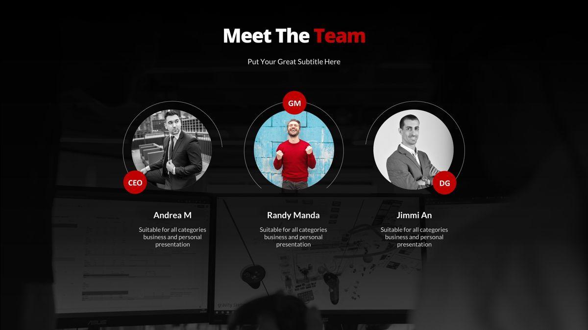 Marketing - Creative Business Powerpoint Template, Slide 9, 05910, Business Models — PoweredTemplate.com