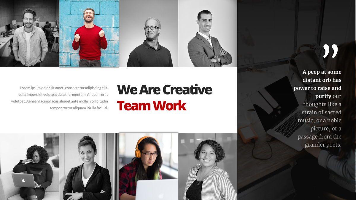 Marketing - Creative Business Google Slides Template, Slide 11, 05911, Business Models — PoweredTemplate.com