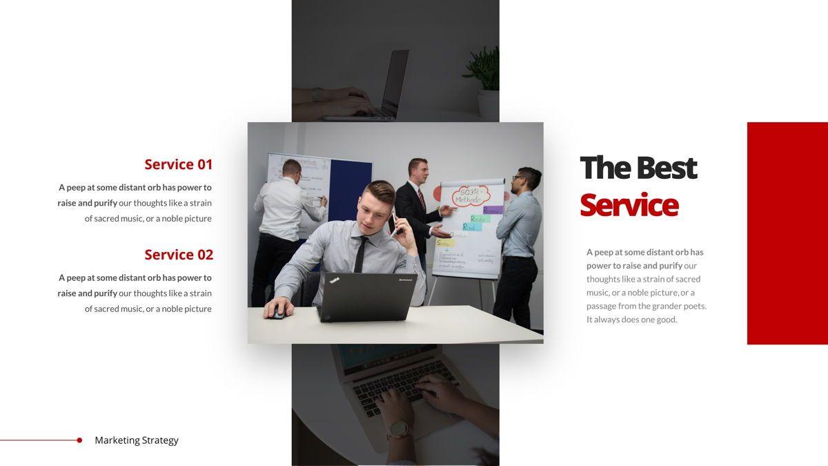 Marketing - Creative Business Google Slides Template, Slide 12, 05911, Business Models — PoweredTemplate.com