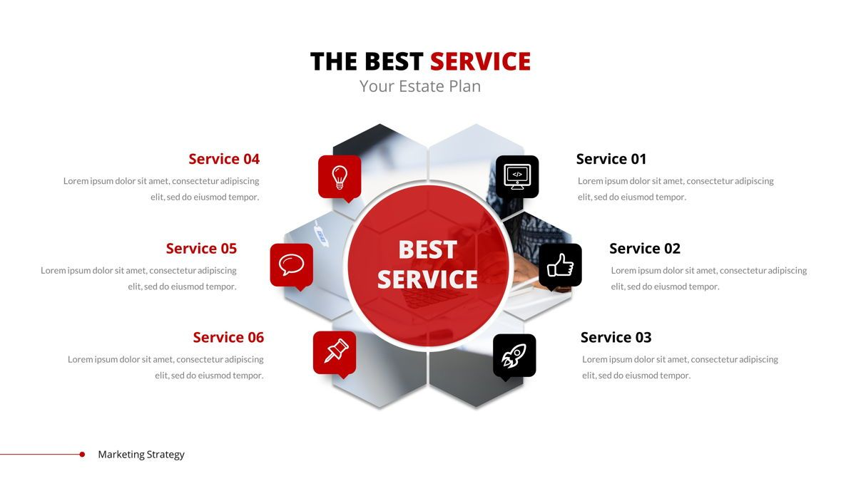 Marketing - Creative Business Google Slides Template, Slide 15, 05911, Business Models — PoweredTemplate.com