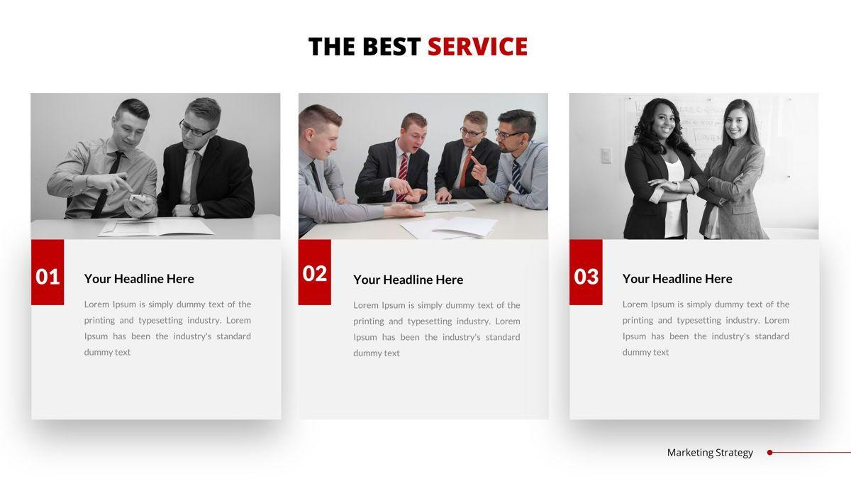 Marketing - Creative Business Google Slides Template, Slide 16, 05911, Business Models — PoweredTemplate.com