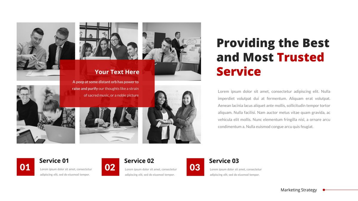 Marketing - Creative Business Google Slides Template, Slide 17, 05911, Business Models — PoweredTemplate.com